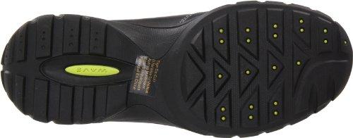 Clarks Tackle Slip-on Black Leather