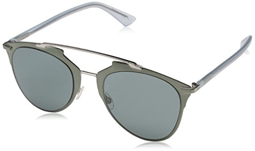 Dior Damen DIORREFLECTED 5L 1RO Sonnenbrille, Blau (Khaki Blue/Grey Green), 52