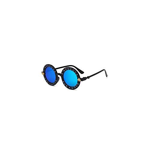 MINGW Steampunk Bee Kids Sunglasses Boys Girls Luxury Children Sunglasses Round Sun Glasses Oculos Accessories