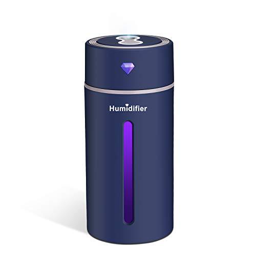 Puaida Mini Ultraschall Luftbefeuchter, 250 ml Abschaltautomatik