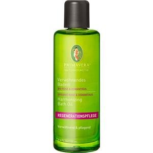 PRIMAVERA Verwöhnendes Badeöl Rose Osmanthus 100 ml - Naturkosmetik - harmonisierend, verwöhnend, rückfettend - vegan