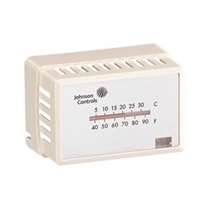 pneumatic-thermostat-cover-beige-by-johnson-controls