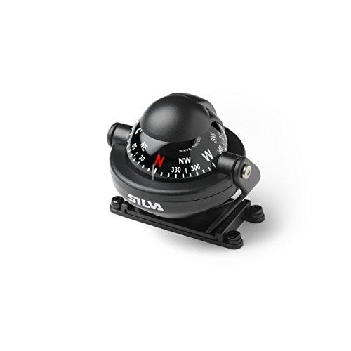 Relags Silva Kompass 'C58' für Auto und Boot schwarz, One Size