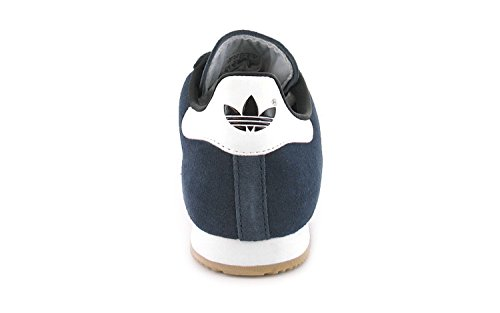 adidas Sam Super Suede, Chaussures de Sport Homme, Bleu, 4 EU Bleu