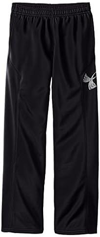 Under Armour AF Storm Big Logo Pant Pantalon Garçon, Black, FR : YLG (Taille Fabricant : YLG)