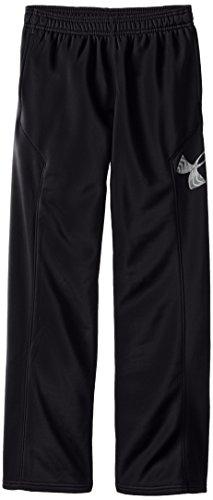 Under Armour Jungen Fitness Hose AF Storm Big Logo Pants Black YL