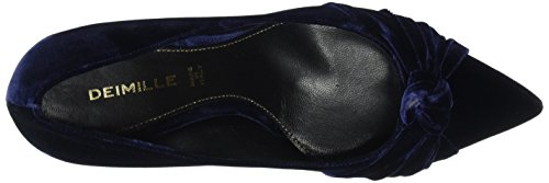 Dei Mille Damen Paul70 Pumps Blau (BLU Notte)