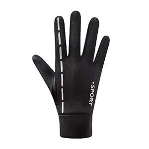 BESPORTBLE 1 Paar warme Winterhandschuhe Skifahren Schnee Radfahren Handschuhe Handschuhe für Männer Frauen im Freien kaltes Wetter-Größe m (schwarz)