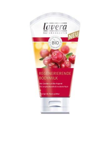 Lavera Bodymilk Bio-Argan & Cranberry, 1er Pack (1 x 150 ml)