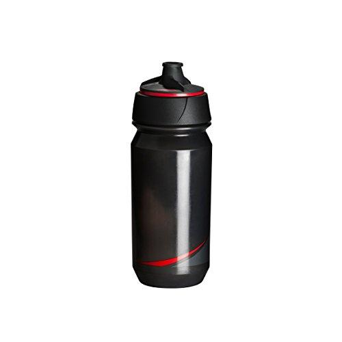 Tacx Trinkflasche Shanti Twist 500 ml mit Membranverschluß Colour, Blau Smoke/Rot