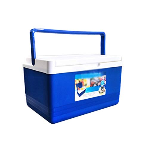cuffslee Kühlbox 5L Dual Use BoxIsolierbox Lebensmittelwärmer Container Barbecue Fishing Box für Home Office