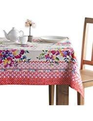 Maison d' Hermine Rose Garten 100% Baumwolle Tischdecke 60 Zoll Von 120 Zoll