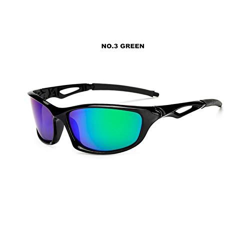 Sport-Sonnenbrillen, Vintage Sonnenbrillen, Männer's Polarized Sunglasses Male Car Driving Sun Glasses UV400 Männer Polarized Sunglass Goggles Eyewear Green