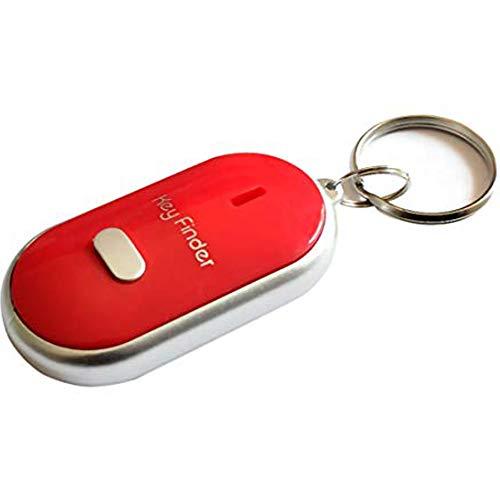 lymty Pfeifen Sound Induction mit LED-Blitzlicht Wireless Key Finder Key Locator Anti-verlorene Gerät Auto Styling Auto Schlüsselanhänger -