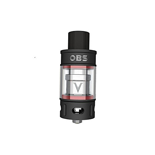 OBS V Tank Sub Ohm Tank 5.2ml Verdampfer Farbe Schwarz