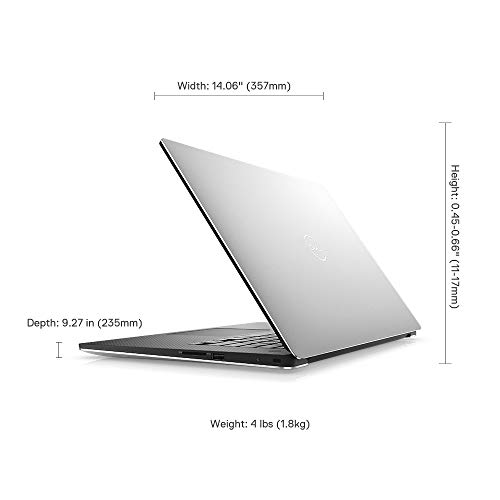 "Dell XPS 9570 15.6-inch FHD Infinity Edge Display Laptop (eighth Gen-Core i7-8750H/16GB/512 GB SSD/Windows 10 + Ms Office H&S""16/ Nvidia GeForce GTX 1050Ti 4GB Graphics), Silver Image 4"