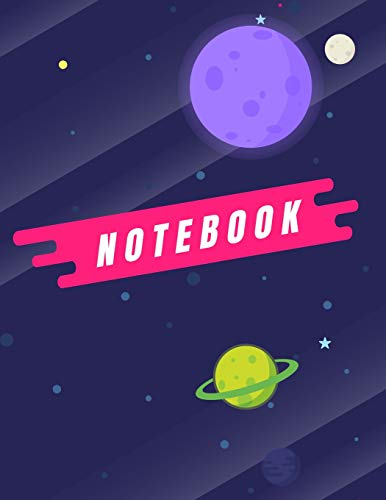 Notebook: Hi human cover (8.5 x 11)  inches 110 pages, Blank Unlined Paper for Sketching, Drawing , Whiting , Journaling & Doodling (Alien notebook,) (Alien Cute Tattoo)