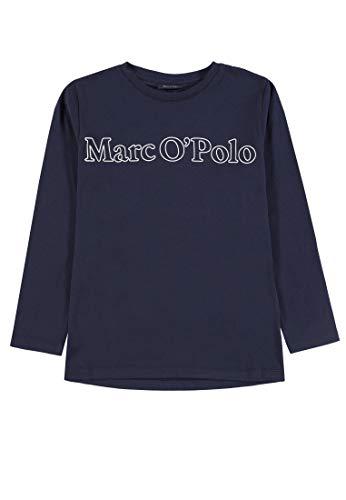 Marc O' Polo Kids Jungen Langarmshirt T-Shirt 1/1 Arm, Blau (Night Sky Blue 3143), 92