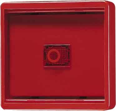 JUNG WG600 - PLACA CON CRISTAL AMARILLO WG600