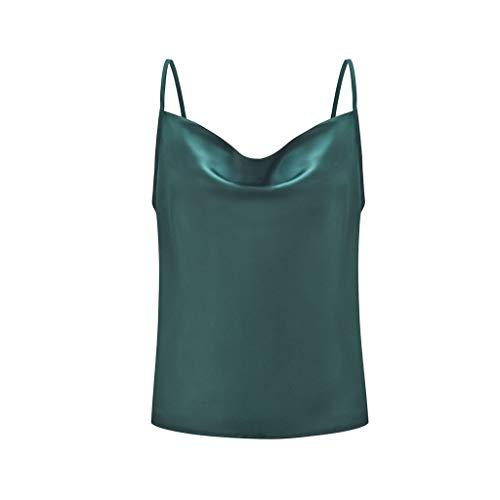 4c51528189 TEBAISE Chic Exquis Tops Été et Automne Casual Loisirs Simple,Col u Uni  Couleur réglable