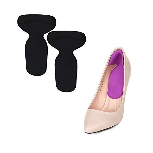 Angoter 1Pair High Heel Pads Zurück Ferse Einlegesohlen-Kissen für Fußpflege-Schutz Anti-Rutsch-Kissen-Schuheinlage