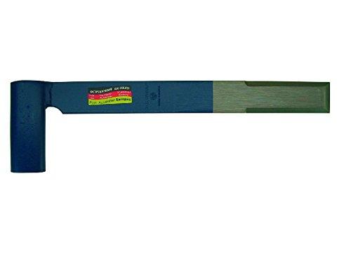 Ochsenkopf Stichaxt Pariser Form, CV-Stahl, blau / silber, 45 x 4.5 x 2 cm