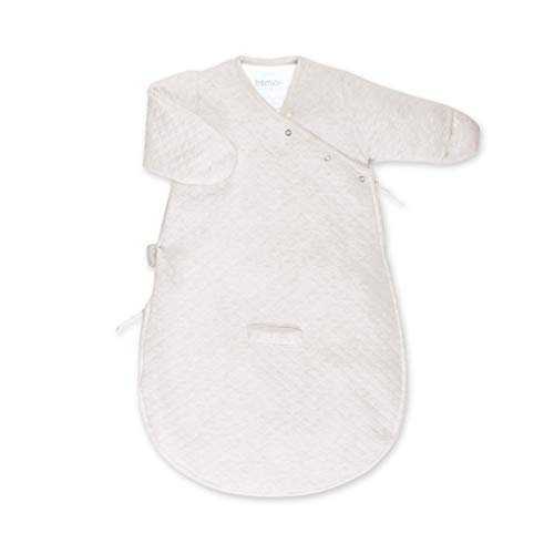BEMINI Gigoteuse Magic Bag avec manche beige clair chiné 0/3 mois, en kilty