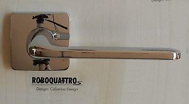 maniglie-per-porte-interne-roboquattro-cromo-lucido-colmbo-10-anni-di-garanzia