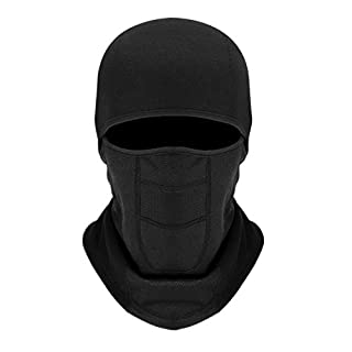 Oumers Balaclava Face Mask, Breathable Full Face Mask Cycling Polyester Fleece Face Mask for Ski Motorcycle Outdoor Sport Men and Women