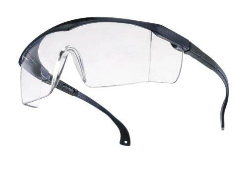 Schutzbrille BASIC klar EN166 blau Laborbrille