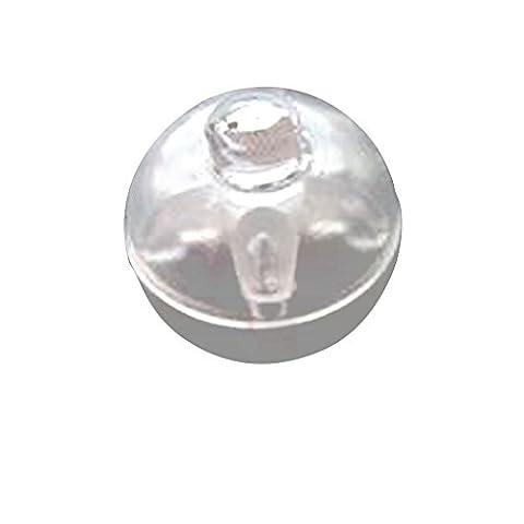 Generic 50pcs Helle Mini Ballon Lampe Nachtlicht Licht Weihnachten Partei