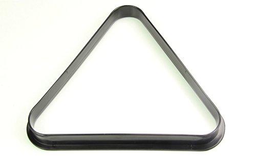 Generic dyhp-a10-code-4433-class-1-15Bälle Dreieck-Rack GLE-11/5,1cm (38mm), 15-Ball Snooker Schwarz Kunststoff-Ball Snooker & Pool (38mm)--dyhp-uk10-160819-2604 -