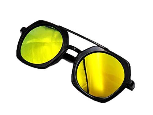 Midsy Outdoor-Brille Mädchen unzerstörbar aus flexiblem Gummi ReiseSonnenbrillen Herren PolfilterDekogläser Anti-StrahlungIdeal Radbrille Outdoor UV