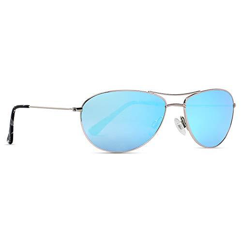 maxjuli Pilotenbrille Polarisiert Schmales klein Sonnenbrille,Flieger für Herren Damen Teenager MJ8017