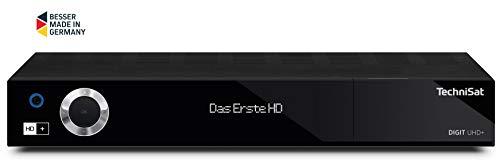 TECHNISAT DIGIT UHD+ HDTV Receiver mit 6 Monate HD+ Schwarz