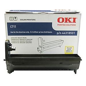 Okidata C711 Series 44318501 - Kit de Tambor de Imagen Amarillo (20.000...