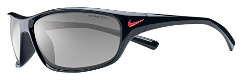 Nike Herren RABID EV0603 001 63 Sonnenbrille, Schwarz (Black/Grey Lens),