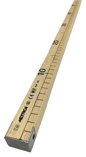 Regla, herramienta medición, barra madera sastre