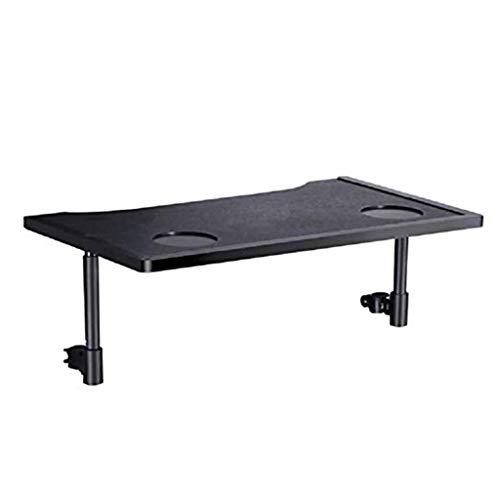blett Rollstuhl Tablett Tisch mit Becherhalter, Tragbar Knietablett Zubehör Kind Stuhl Tablett Schreibtisch für Essen Lesen etc. ()