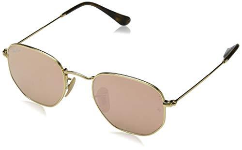 Ray-Ban Unisex Sonnenbrille Rb 3548n Gestell: Gold,Gläser: Kupfer 001/Z2), Medium (Herstellergröße: 51)