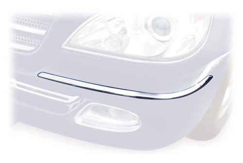 Preisvergleich Produktbild Schätz 1631111 Chrom-Stoßstangen-Zierblenden für ML-Klassen W163 ab Bj. 09/01 passend für Fahrzeuge ohne Scheinwerferwaschanlage (ausgenommen A)