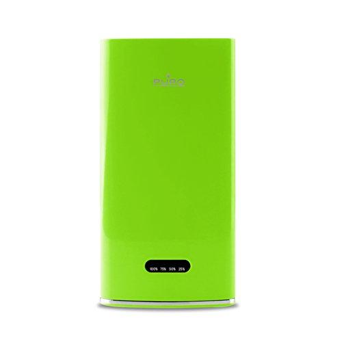 PURO BB40P1GRN Batteria Esterna 4000 mAh Power Bank e Cavo Micro da 20 cm per Smartphone Colore Verde