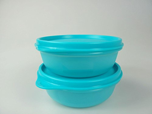 TUPPERWARE Hit-Parade 32745-2 contenitori per frigorifero, 300 ml, colore: turchese scuro