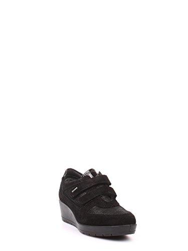 IGI&Co 6736100 Scarpa Velcro Donna Nero