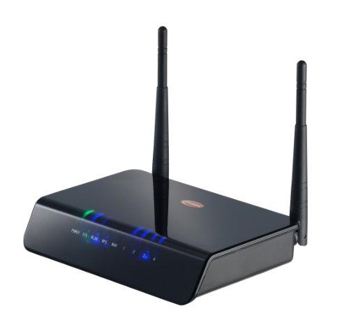 sempre WLR300-2 11N 2T2R W-LANRouter mit 4-Port Switch (300Mbit) -