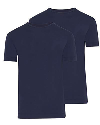 Jockey T-Shirt 1+1 Gratis Größe 8, Farbe Night Blue - Jockey Microfiber T-shirt