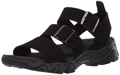 Skechers D'lites 2.0 Cool Cosmos Mujer Sandalias Negro