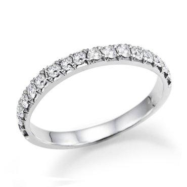 1/3 ct. Diamond Wedding Band 14k White Gold