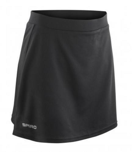 Spiro Ladies/Womens Windproof Quick Dry Sports Skort Test