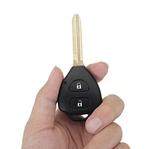 CALALEIE La chiave completa della chiave a distanza dell'automobile di 433 MHz 4D con il chip si adatta a Toyota Hilux 2004-2009 Strumento ricambi auto